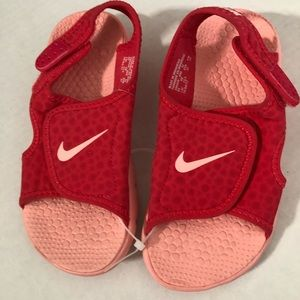 Nike Sunray Pink Toddler Girl Shoes